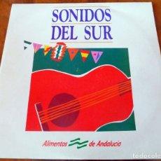 Discos de vinilo: LP - SONIDOS DEL SUR - ALIMENTOS DE ANDALUCÍA (VER FOTOS). Lote 235698130