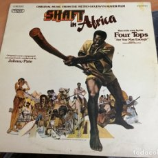 Discos de vinilo: SHAFT IN AFRICA B.S.O. FOUR TOPS . LP ESPAÑA 1973 (B-8). Lote 182887081