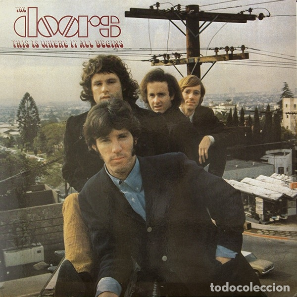 THE DOORS – THIS IS WHERE IT ALL BEGINS (Música - Discos - LP Vinilo - Rock & Roll)