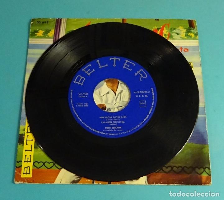 Discos de vinilo: TONY LEBLANC CANTA VAMOS AL TURRÓN. MIRÁNDOME EN TUS OJOS. BAILANDO CON ISBEL. MÁS O MENOS - Foto 3 - 182890978