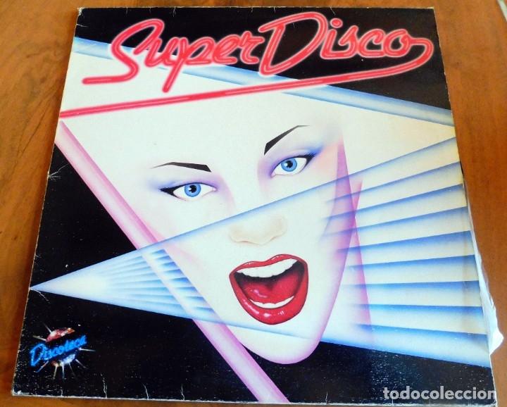 LP - SUPER DISCO - DISCOTECA - CBS 1983(VER FOTOS) (Música - Discos - LP Vinilo - Disco y Dance)