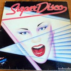 Discos de vinilo: LP - SUPER DISCO - DISCOTECA - CBS 1983(VER FOTOS). Lote 182891167