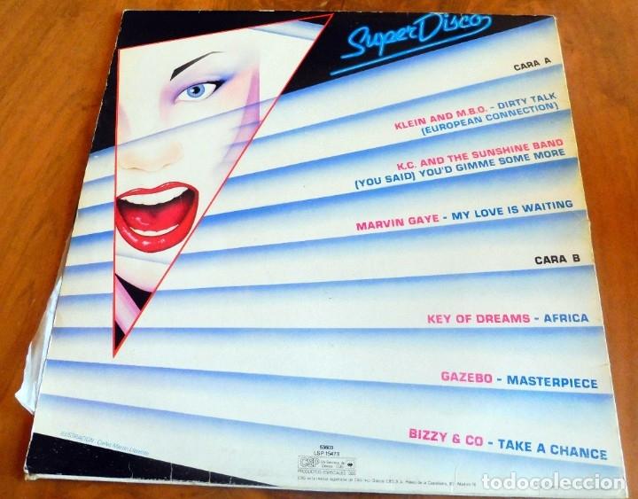 Discos de vinilo: LP - SUPER DISCO - DISCOTECA - CBS 1983(VER FOTOS) - Foto 2 - 182891167