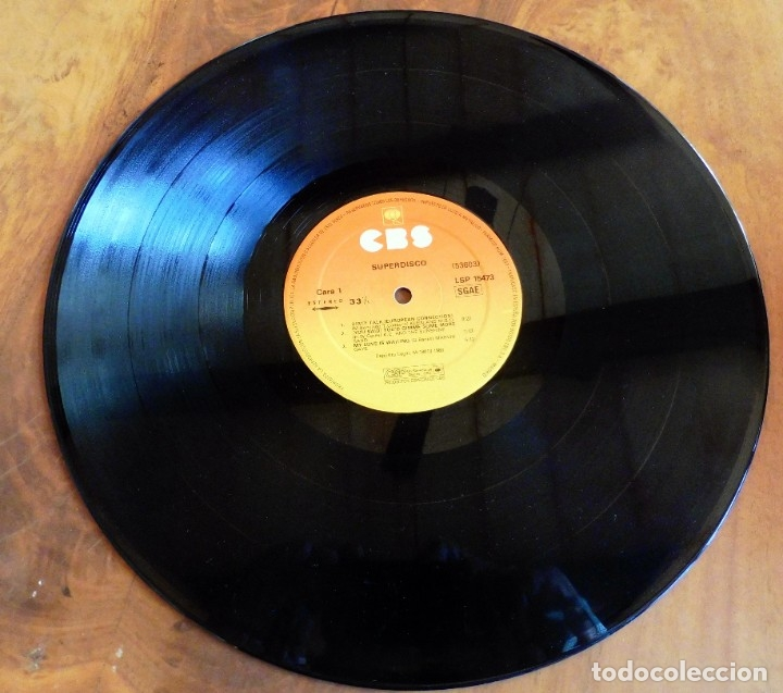 Discos de vinilo: LP - SUPER DISCO - DISCOTECA - CBS 1983(VER FOTOS) - Foto 3 - 182891167