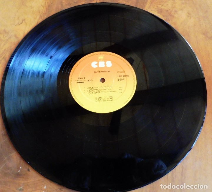 Discos de vinilo: LP - SUPER DISCO - DISCOTECA - CBS 1983(VER FOTOS) - Foto 4 - 182891167