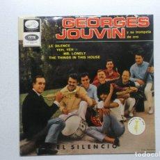 Discos de vinilo: GEORGES JOUVIN Y SU TROMPETA DE ORO - LE SILENCE - EP LA VOZ DE SU AMO - 7 EPL 14-195 - ESPAÑA 1965. Lote 182891293