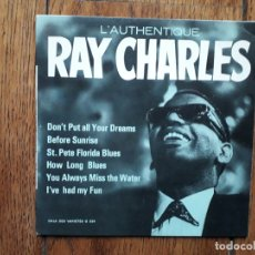 Discos de vinilo: RAY CHARLES - L' AUTHENTIQUE RAY CHARLES. Lote 182895597