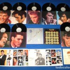 Discos de vinilo: ELVIS PRESLEY / 25TH ANNIVERSARY 1955 - 1980 - CAJA 8 LPS, LIMT EDIT NUMERADA + LIBRETO, USA EDIT EX. Lote 43480457