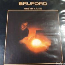 Discos de vinilo: BILL BRUFORD ONE OF A KIND COMPONENTE DE YES DE KING CRIMSON. Lote 182903043