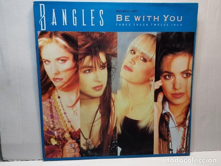 MAXI SINGLE-BANGLES- BE WITH YOU FUNDA ORIGINAL 1988 (Música - Discos de Vinilo - Maxi Singles - Pop - Rock - New Wave Extranjero de los 80)