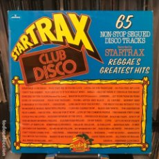 Discos de vinilo: STARTRAX – REGGAE'S GREATEST HITS (EXODUS,AMIGOCOULD YOU BE LOVED,THE LIQUIDATOR;ALL KINDS OF...). Lote 182908613