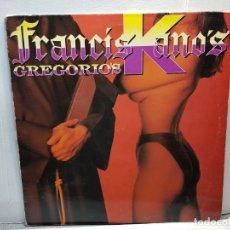 Discos de vinilo: MAXI SINGLE -FRANCISKANO'S- GRGORIO'S FUNDA ORIGINAL 1994. Lote 182910260