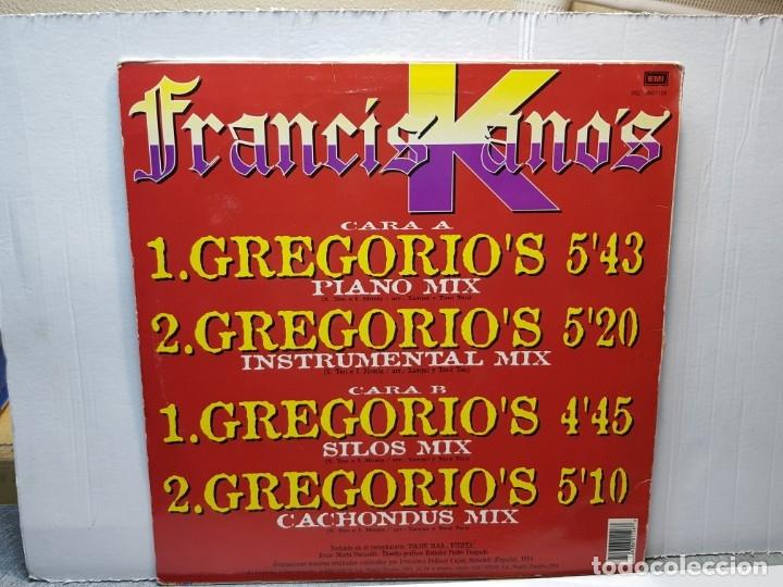 Discos de vinilo: MAXI SINGLE -FRANCISKANOS- GRGORIOS funda original 1994 - Foto 2 - 182910260