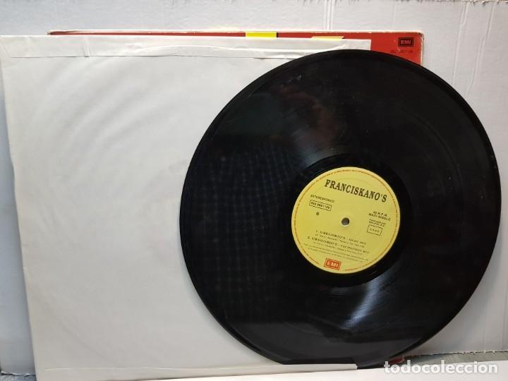Discos de vinilo: MAXI SINGLE -FRANCISKANOS- GRGORIOS funda original 1994 - Foto 3 - 182910260