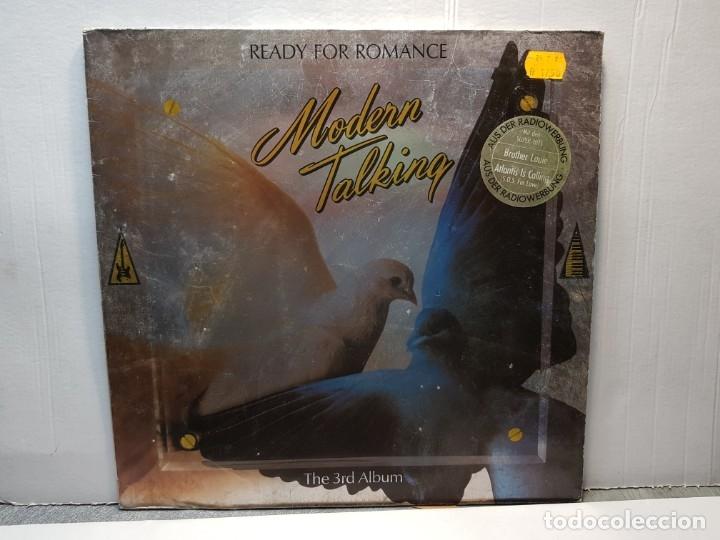 LP -MODERN TALKING-READY FOR ROMANCE FUNDA ORIGINAL 1986 (Música - Discos - LP Vinilo - Pop - Rock - New Wave Extranjero de los 80)