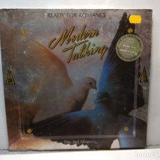 Discos de vinilo: LP -MODERN TALKING-READY FOR ROMANCE FUNDA ORIGINAL 1986. Lote 182911340