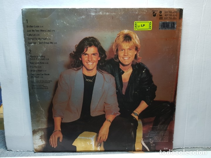 Discos de vinilo: LP -MODERN TALKING-READY FOR ROMANCE funda original 1986 - Foto 2 - 182911340