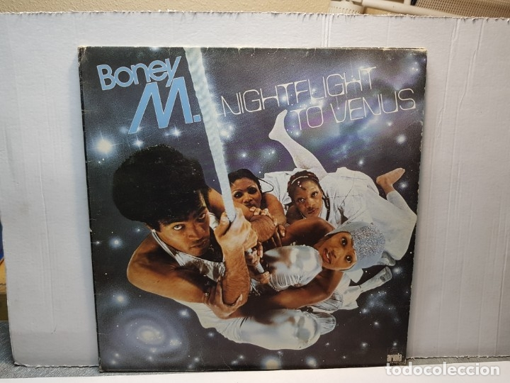 LP -BONEY M.-NIGHTFLIGHT TO VENUS FUNDA ORIGINAL 1978 (Música - Discos - LP Vinilo - Pop - Rock - New Wave Extranjero de los 80)