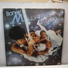 Discos de vinilo: LP -BONEY M.-NIGHTFLIGHT TO VENUS FUNDA ORIGINAL 1978. Lote 182911545
