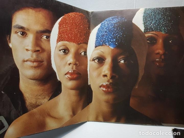Discos de vinilo: LP -BONEY M.-NIGHTFLIGHT TO VENUS funda original 1978 - Foto 2 - 182911545