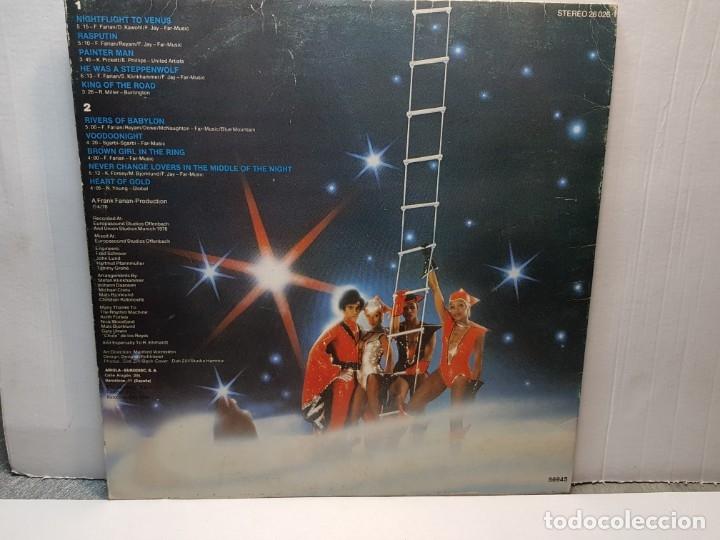 Discos de vinilo: LP -BONEY M.-NIGHTFLIGHT TO VENUS funda original 1978 - Foto 3 - 182911545