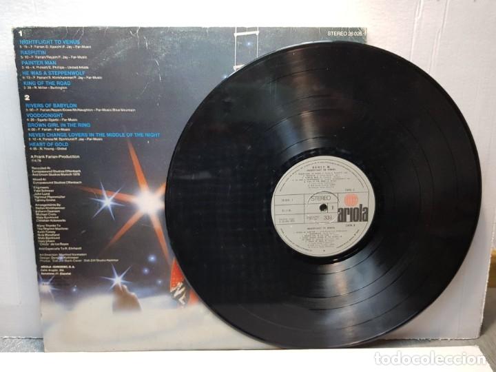 Discos de vinilo: LP -BONEY M.-NIGHTFLIGHT TO VENUS funda original 1978 - Foto 4 - 182911545