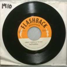 Discos de vinilo: THE RAMRODS. (GHOST) RIDERS IN THE SKY/ ZIG ZAG. FLASHBACK USA 1960 RE SINGLE. Lote 182911793