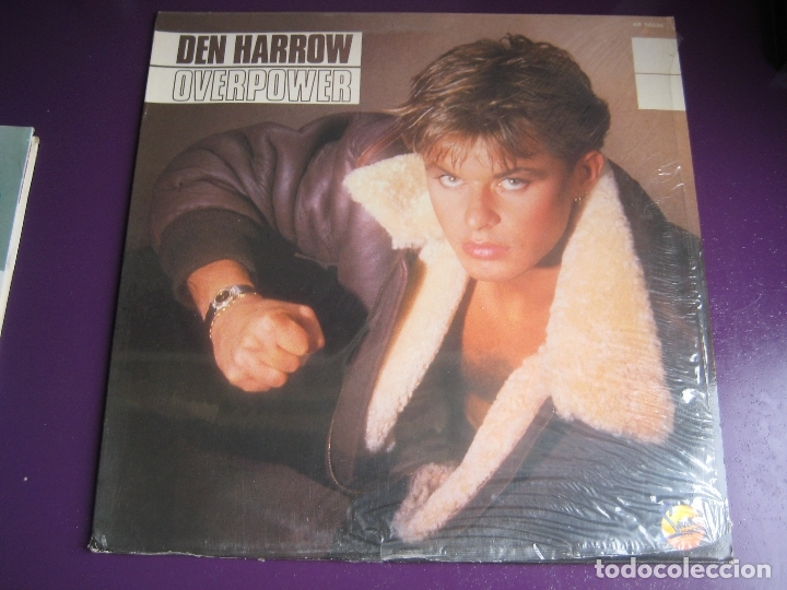 DEN HARROW LP SANNI BABY RECORDS 1985 PRECINTADO - OVERPOWER - ITALODISCO - SYNTH POP DISCO 80'S (Música - Discos - LP Vinilo - Disco y Dance)