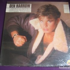 Discos de vinilo: DEN HARROW LP SANNI BABY RECORDS 1985 PRECINTADO - OVERPOWER - ITALODISCO - SYNTH POP DISCO 80'S . Lote 182912785