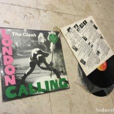 Discos de vinilo: LONDON CALLING LP MADRID 1979 THE CLASH. Lote 182912883