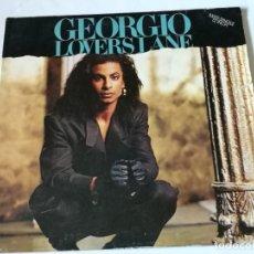Discos de vinilo: GEORGIO - LOVER'S LANE - 1987. Lote 182913535