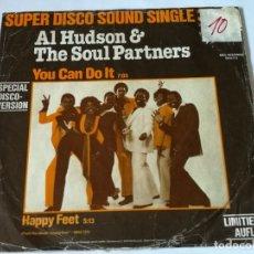 Discos de vinilo: AL HUDSON & THE SOUL PARTNERS - YOU CAN DO IT - 1979. Lote 182913966