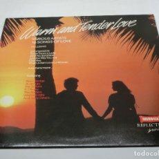 Discos de vinilo: LP - WARM AND TENDER LOVE - VARIOUS ARTISTS 16 SONGS OF LOVE - VARIOS - 1987. Lote 182916646