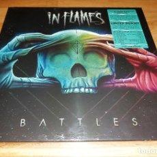 Discos de vinilo: IN FLAMES 2 LP SUPER DELUXE BOXSET + EXTRAS 2016 - IRON MAIDEN-METALLICA-RAMMSTEIN-AC/DC-SEPULTURA-. Lote 182917651