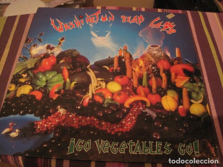 LP WASHINGTON DEAD CATS GO VEGETABLES GO BONDAGE RECORDS 002 PSYCHOBILLY (Música - Discos - LP Vinilo - Pop - Rock Extranjero de los 90 a la actualidad)
