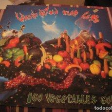 Discos de vinilo: LP WASHINGTON DEAD CATS GO VEGETABLES GO BONDAGE RECORDS 002 PSYCHOBILLY. Lote 182924487
