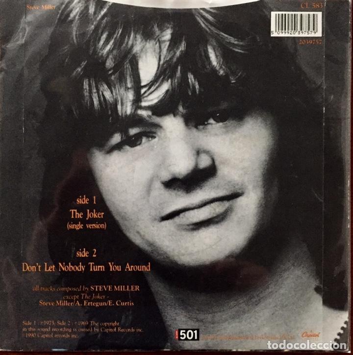 Discos de vinilo: Steve Miller Band. The Joker. Single. - Foto 2 - 182924838