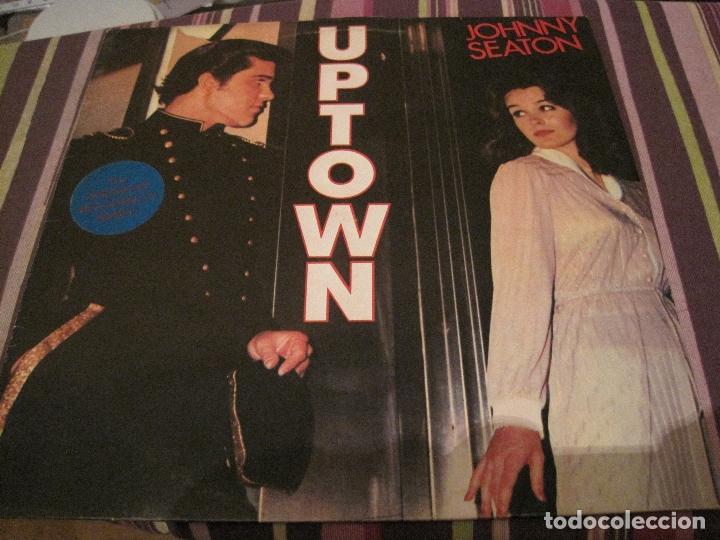 LP JOHNNY SEATON UPTOWN ROCKHOUSE 8403 NEO ROCKABILLY (Música - Discos - LP Vinilo - Pop - Rock Extranjero de los 90 a la actualidad)