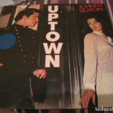 Discos de vinilo: LP JOHNNY SEATON UPTOWN ROCKHOUSE 8403 NEO ROCKABILLY. Lote 182925873