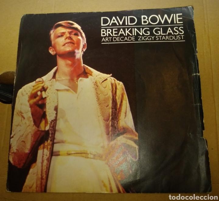 DAVID BOWIE - BREAKING GLASS (Música - Discos de Vinilo - Singles - Pop - Rock Extranjero de los 80)