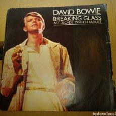 Discos de vinilo: DAVID BOWIE - BREAKING GLASS. Lote 182939696