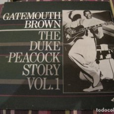 Discos de vinilo: LP GATEMOUTH BROWN THE DUKE PEACOCK STORY VOL. 1 ACE 161 R & B. Lote 182940905