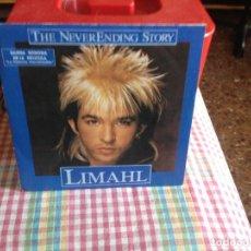 Discos de vinilo: LIMAHL - B.S.O. LA HISTORIA INTERMINABLE SINGLE EDICION ESPAÑOLA 1984. Lote 182943950