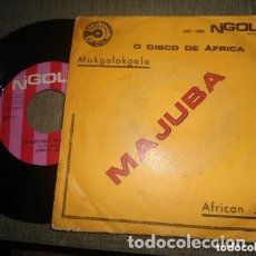 Discos de vinilo: NTIGUO EP MAJUBA MAKGOLOKGOLO - JAZZ AFRICA - ANGOLA. Lote 182944722