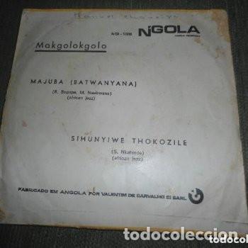 Discos de vinilo: NTIGUO EP MAJUBA MAKGOLOKGOLO - JAZZ AFRICA - ANGOLA - Foto 2 - 182944722