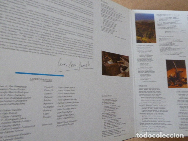 Discos de vinilo: LOS ARRIEROS. ADAMACANSIS. GRABACIONES ACENTEJO, 1986. TEMA CANARIAS. - Foto 4 - 182948813