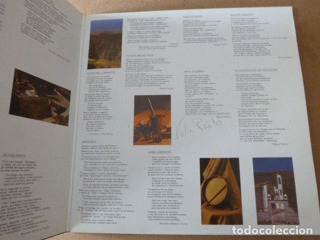 Discos de vinilo: LOS ARRIEROS. ADAMACANSIS. GRABACIONES ACENTEJO, 1986. TEMA CANARIAS. - Foto 5 - 182948813