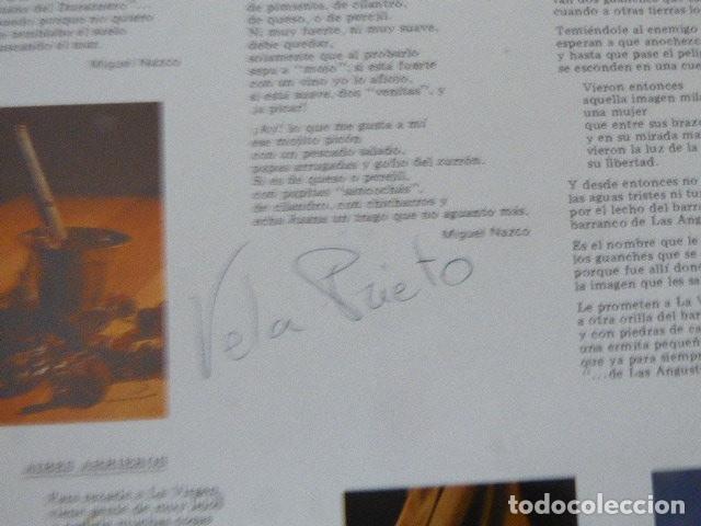 Discos de vinilo: LOS ARRIEROS. ADAMACANSIS. GRABACIONES ACENTEJO, 1986. TEMA CANARIAS. - Foto 6 - 182948813