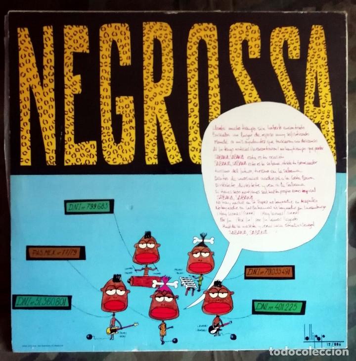 Discos de vinilo: Negros S.A. – Sabana, Sabana Spain 1983 Ana Curra,Nacho Canut,Alaska,Paralisis Permanente - Foto 2 - 182951726