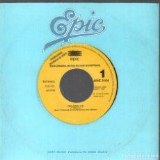 Discos de vinilo: HOOK - ORIGINAL MOTION PICTURE SOUNDTRACK / PROLOGUE / SINGLE PROMO DE 1992 RF-4174 , BUEN ESTADO. Lote 182952347
